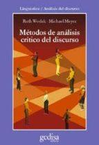 metodos de analisis critico del discurso-ruth wodak-michael c. meyer-9788474329704