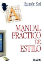 manual practico de estilo-ramon sol-9788479530204