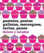 pasteles, pastas, galletas, merengues, tartas, panes caroline bretherton 9788480767804