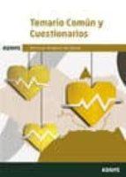 servicio andaluz de salud: temario comun y cuestionarios-9788490849804