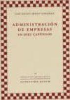 administracion de empresas en diez capitulos-jose miguel ridao gonzalez-9788492411504