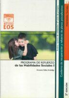 programa de refuerzo de las habilidades sociales i (2ª ed.) antonio valles arandiga 9788497271004