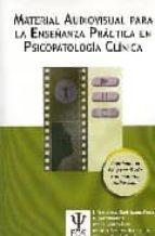 material audiovisual para la enseñanza practica en psicopatologia clinica (contiene 1 cd y 3 dvd)-9788497272704