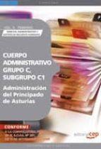 CUERPO ADMINISTRATIVO, GRUPO C, SUBGRUPO C1, DE LA ADMINISTRACION DEL PRINCIPADO DE ASTURIAS. VOL. II. TEMARIO DERECHO ADMINISTRATIVO