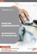 AUXILIAR ADMINISTRATIVO DEL AYUNTAMIENTO DE FUENLABRADA. TEMARIO VOL. II