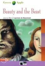 beauty and the beast. book + cd jeanne marie leprince de beaumont 9788853007704