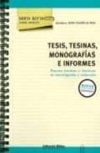 tesis, tesinas, monografias e informes-mirta botta-9789507866104