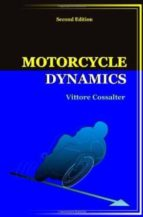 motorcycle dynamics cossalter vittore 9781430308614