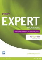 expert first 3rd edition coursebook with myenglishlab  (examenes)-9781447962014
