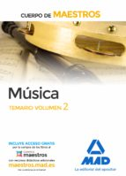 maestros musica volumen 2 temario 9788414203514