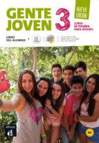 gente joven 3 nueva edición libro del alumno + cd-9788415846314
