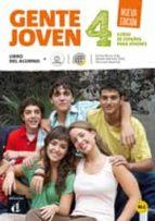 gente joven 4 nueva edición libro del alumno + cd-9788416057214