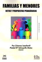 familias y menores: retos y propuestas pedagogicas paz canovas 9788416062614