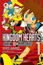 kingdom hearts chain of memories nº 01 shiro amano 9788416244614
