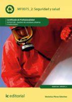seguridad y salud. seag0108 (ebook) verónica pérez sánchez 9788417026714