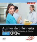 auxiliar de enfermeria del servicio de salud del principado de asturias: sespa: test 9788417674014