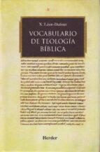 Vocabulario De Teologia Biblica Leon Dufour Pdf