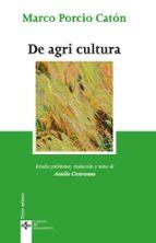 de agri cultura marco porcio caton 9788430949014