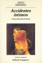 accidentes intimos (premio herralde novela 1990)-justo navarro-9788433909114