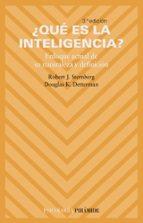 ¿que es la inteligencia?: enfoque actual de su naturaleza y defin icion (3ª ed.)-douglas k. detterman-robert j. sternberg-9788436818314