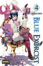 blue exorcist vol.4 kazue kato 9788467908114