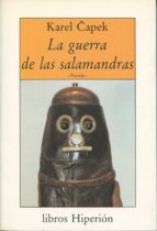 la guerra de las salamandras karel capek 9788475173214
