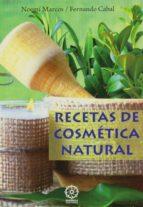 recetas de cosmetica natural-noemi marcos-fernando cabal-9788483528914