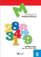 cuaderno de matematicas, nº 8 9788489655614