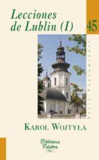 lecciones de lublin i karol wojtyla 9788490610114