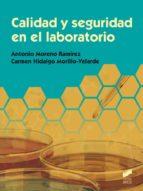 calidad y seguridad en el laboratorio (ebook)-antonio moreno ramirez-carmen hidalgo morillo-velarde-9788490777114