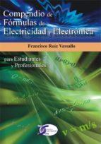 compendio de formulas para electricistas francisco ruiz vassallo 9788496300514