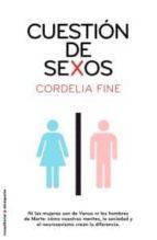 cuestion de sexos cordelia fine 9788499182414