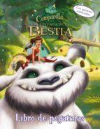 campanilla y la leyenda de la bestia. libro de pegatinas-9788499516714