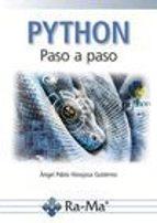 python: paso a paso-angel pablo hinojosa gutierrez-9788499646114