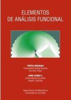 elementos de analisis funcional (2ª ed.) teofilo abuabara jaime lesmes c. 9789586954914