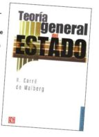 teoria general del estado r. carre de malberg 9789681652814