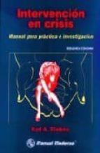 intervencion en crisis: manual para practica e investigacion karl a. slaikeu 9789684267114