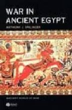 El libro de War in ancient egypt autor ANTHONY J. SPALINGER EPUB!