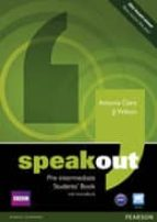 speakout pre-intermediate sb/active book-antonia clare-9781408219324