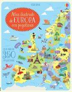 atlas ilustrado de europa con pegatinas jonathan melmoth 9781474933124