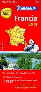 mapa national francia 2018 9782067226524