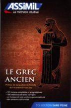 le grec ancien-9782700505924