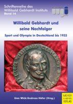 willibald gebhardt und seine nachfolger (ebook) 9783840309724