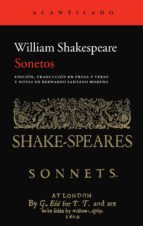 sonetos william shakespeare 9788415689324