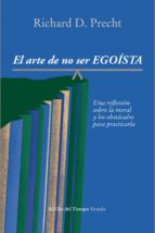 el arte de no ser egoísta (ebook)-richard david precht-9788416208524