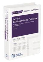 ley de enjuiciamiento criminal 9788416924424