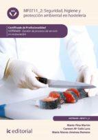 seguridad e higiene y protección ambiental en hostelería. hotr0409 (ebook) marta pino martin 9788417224424
