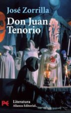 don juan tenorio jose zorrilla 9788420639024