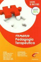 temario de pedagogía terapeútica para opositores al cuerpo de mae stros-9788428381024
