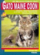 el nuevo libro del gato maine coon-philippe noel-9788430549924